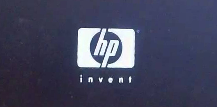 HP boot logo