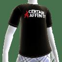 Tshirt: Certain Affinity logo