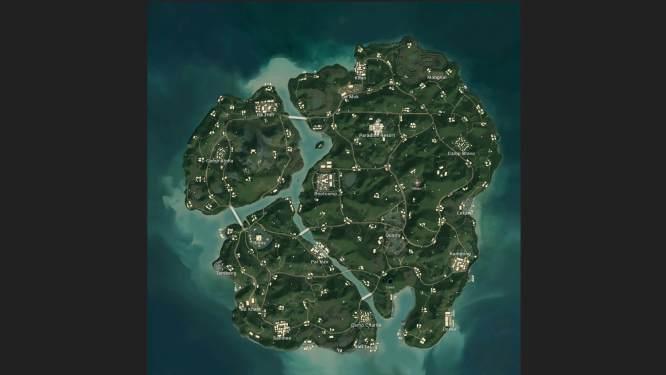 PUBG-Sanhok-map
