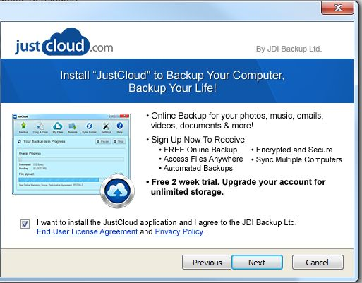 Format factory for pc cloud backup