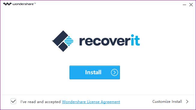 Wondershare Recoverit image
