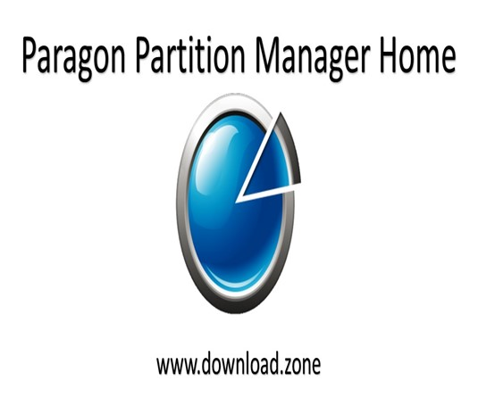 Paragon Partition Manager Home
