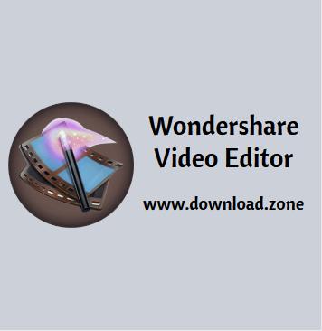 Wodershare Video Editor