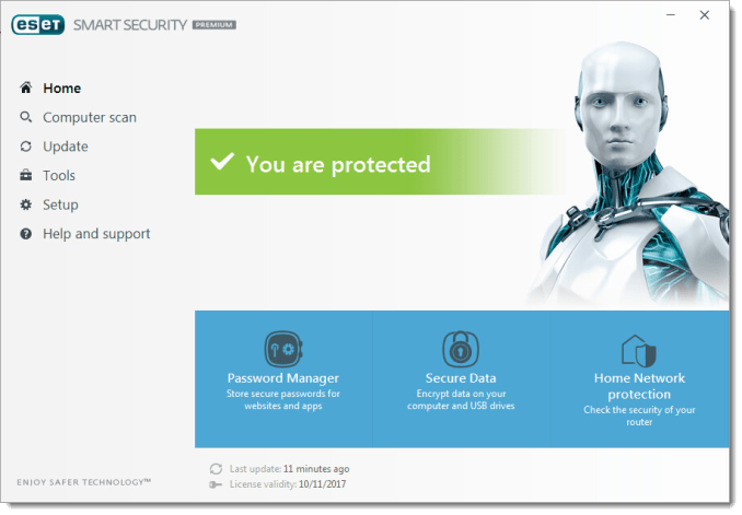 ESET Smart Securit img1