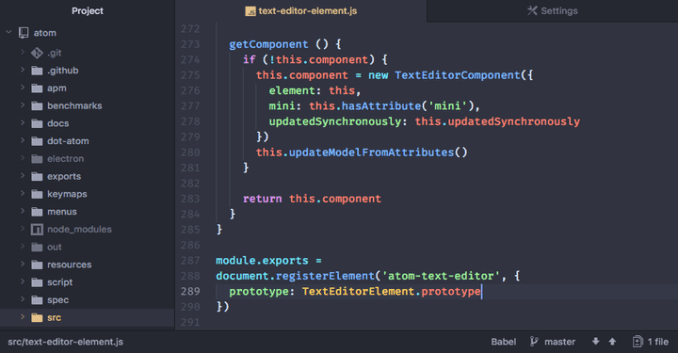 Atom-Text-Editor-for-Linux