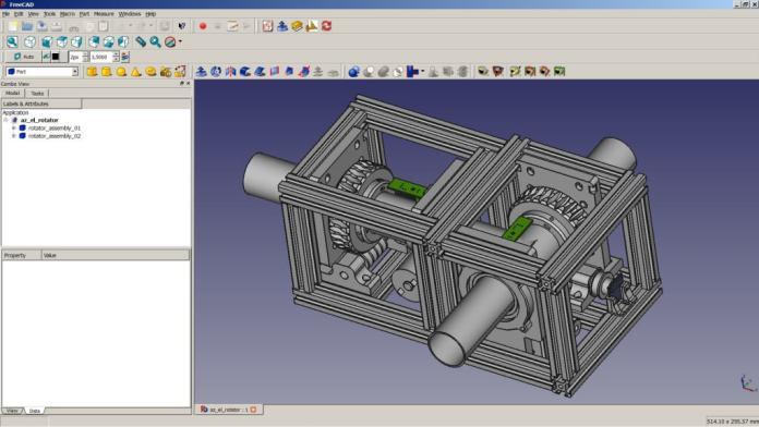 FreeCADd Motor