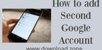 How to add Second Google Account