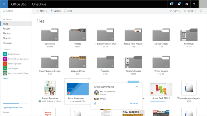 OneDrive-web