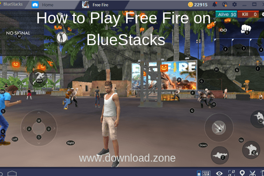free-fire-on-bluestacks