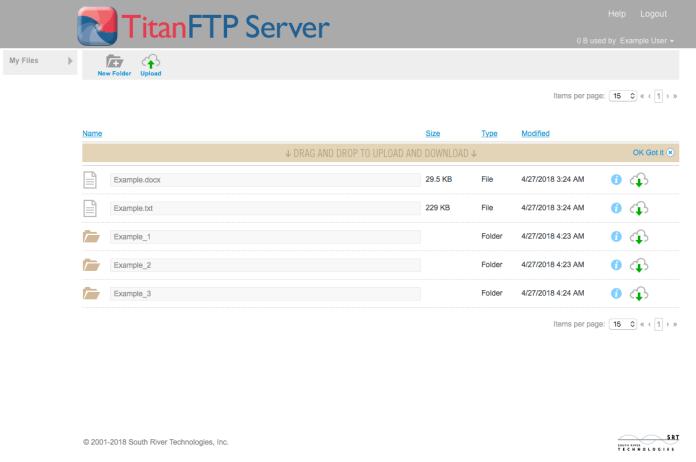 Titan FTP Server Files