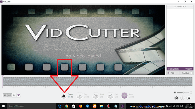 VidCutter Open File