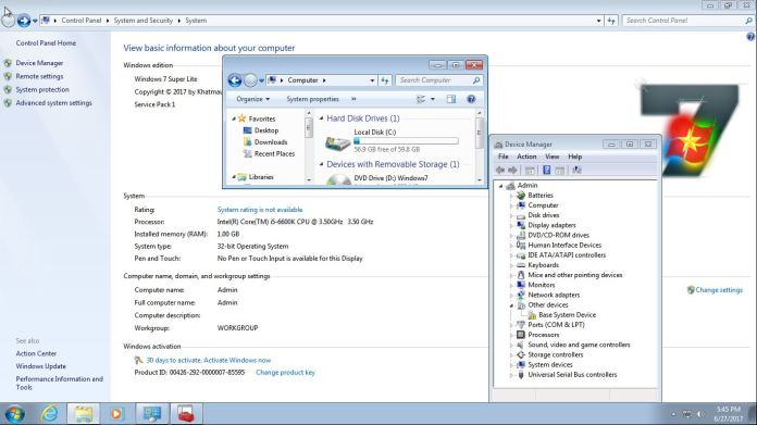 Windows 7 Super Lite System