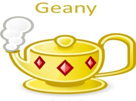 Geany software