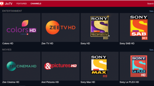 watch your favorite sports,movies and daily shows on jio tv streaming app