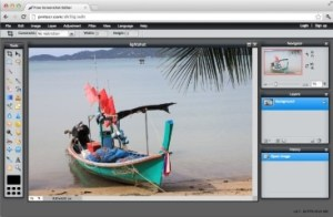 Lightshot software shows display screen