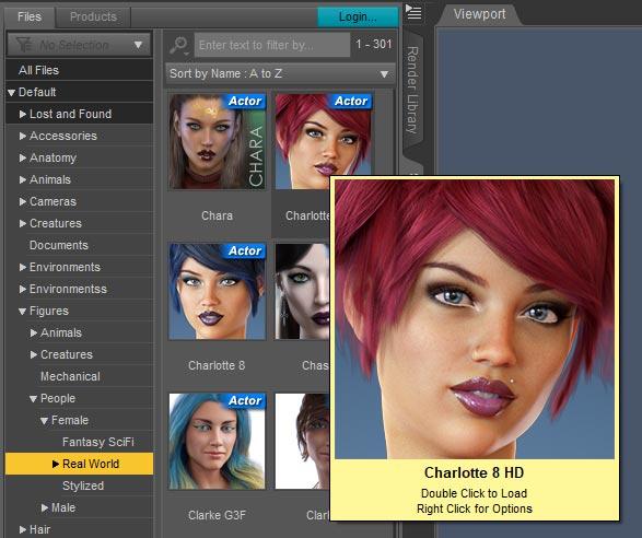 DAZ Studio Render Image