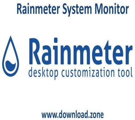 Rainmter-System-Monitor-application