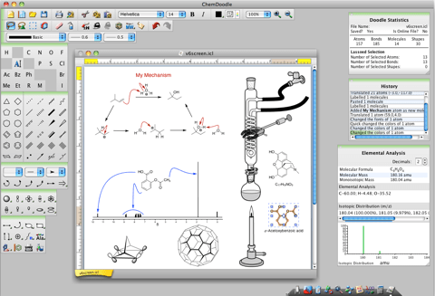 Chemdoodle Chemical Drawing Software Tools