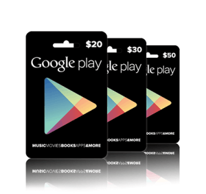 Google-Play-Credit Music Movie Book