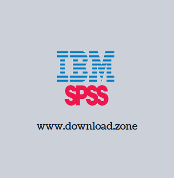 IBM SPSS Software For Windows