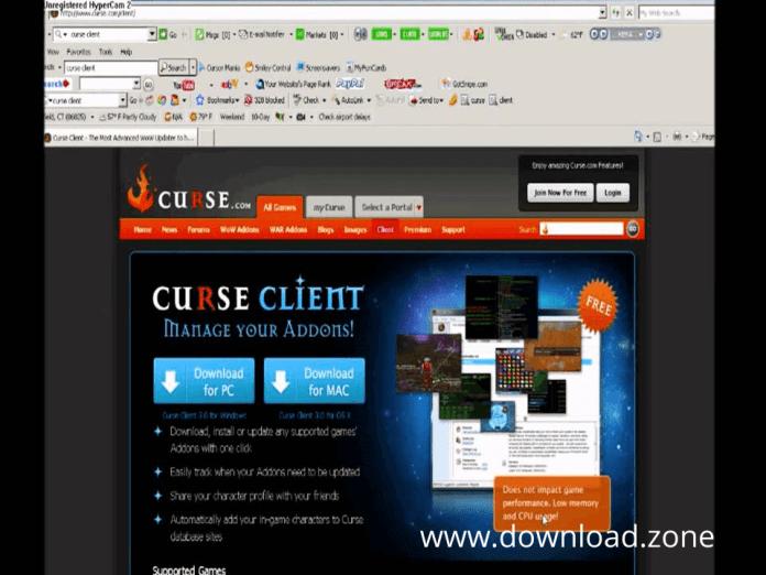 curse client download