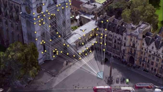 visual navigation system