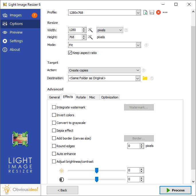 option effect