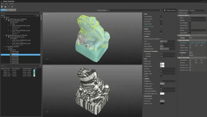 FBX Support In game engine