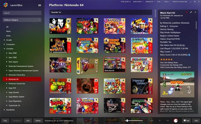 LaunchBox Platform Nintendo 6