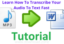 Learn How To Transcribe Your Audio To Text Fast