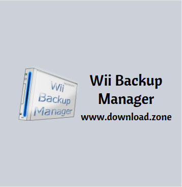 Wii backup Manager Softawre Download