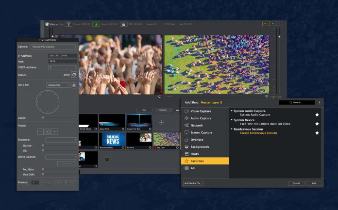 Wirecast live tv streaming