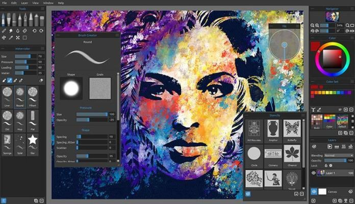 Rebelle 3 Editing Software