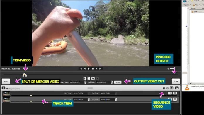 Split or merge video