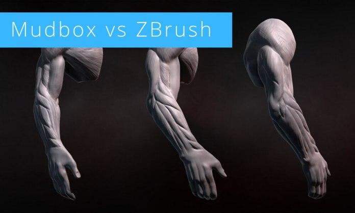 Mudbox-vs-ZBrush