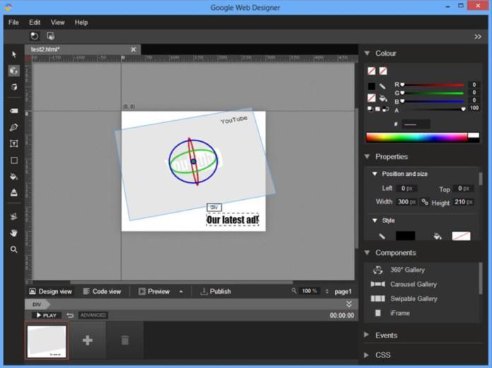 google-web-designer-edit-design