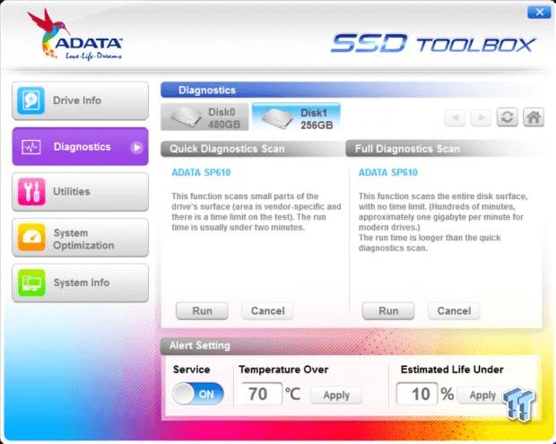 Adata-ssd-toolbox-diagnostics