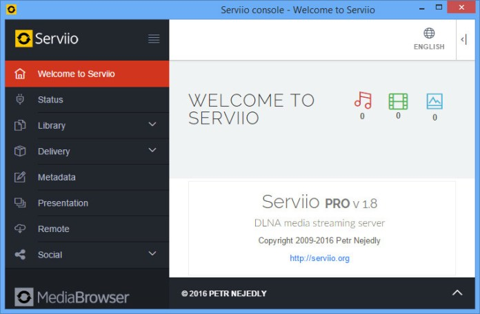 Serviio For DLNA Media Server Software