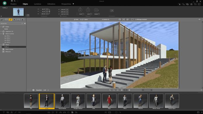 Use 3D Object on Artlantis Studio