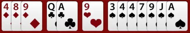 rummy card sorting