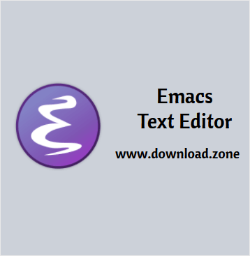 Emacs Text Editor Software Free Download