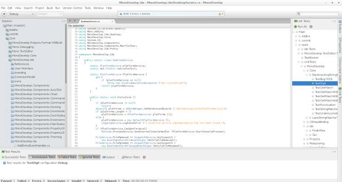 MonoDevelop IDE Software