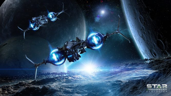 Star Conflict Space Game