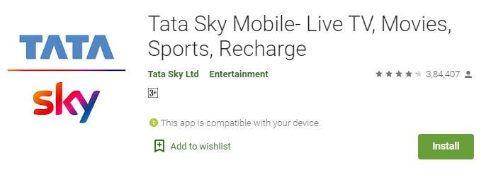 tata sky to watch ipl 2020 live on mobile