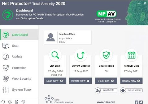 Net Protector Total Security 2020