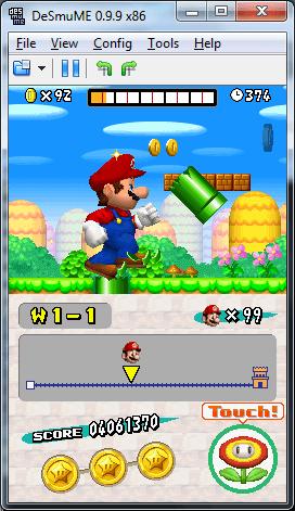 Play Games On DeSmuME Emulator