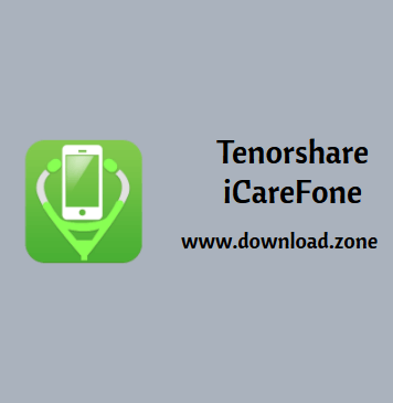 Tenorshare iCareFone iOS File Manager Software For PC