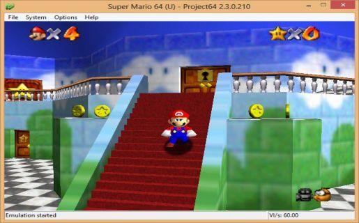 Super Mario Games On Project64 Nintendo 64 Emulator