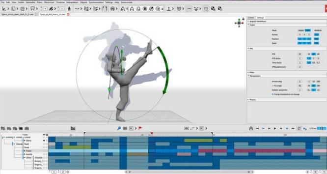 Cascadeur 3d animation