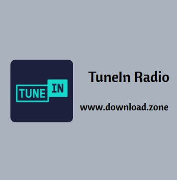 TuneIn Radio Software Free Download